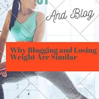 Why I liken Blogging to Losing Weight