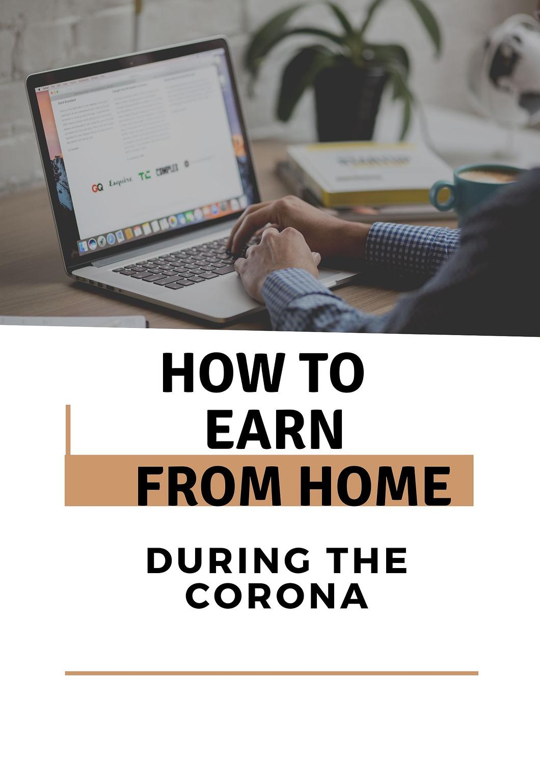 online jobs during corona lockdown