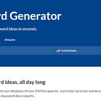 Ahref free keyword generator