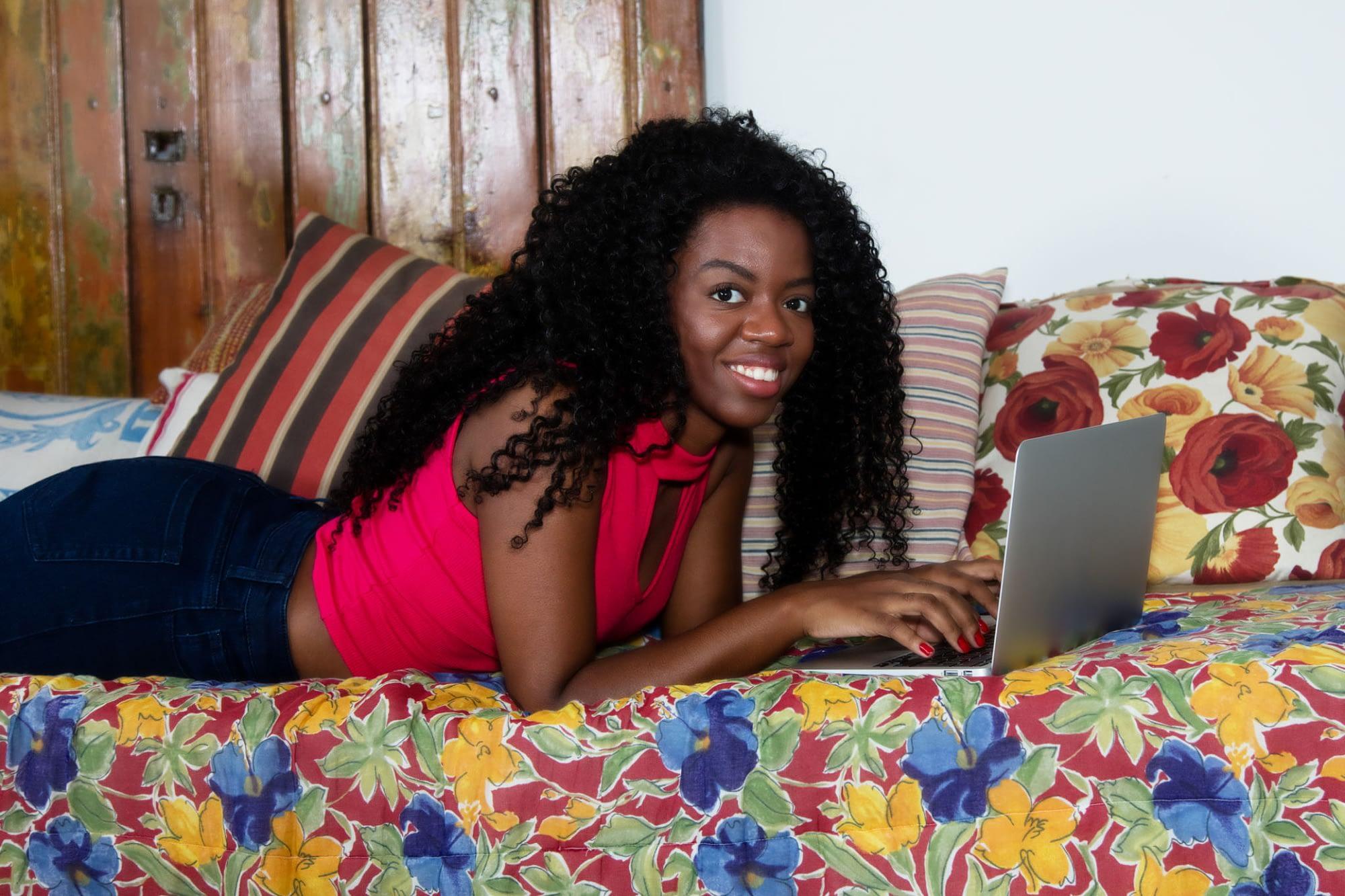 Kenyan student making money online